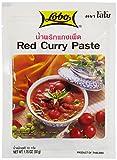 Lobo Spice Paste Red Curry - 3 Paquetes de 12 x 50 gr - Total: 1800 gr