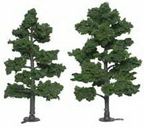Medium Grün Ready Made Trees 6 - 7 Woodland Scenics by Woodland Scenics