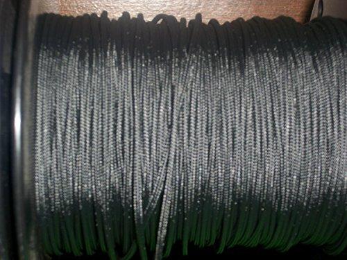 60X Custom Strings Black BCY #24 D Loop Rope Release Material 5