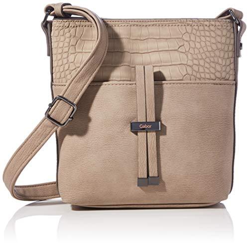 Gabor Damen Gitte Cross bag S, Croco Beige, S