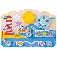 Marine Activity Centre. Age 6+ months. Height: 315mm, Length: 405mm, Depth: 65mm. Made from high quality, responsibly sourced materials. Conforms to current European safety standards.