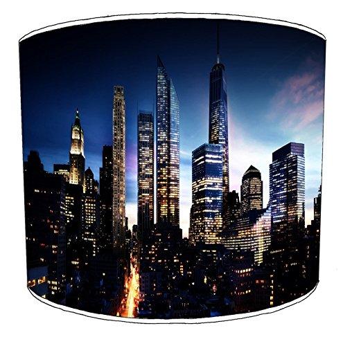 Premier Lighting 20cm Manhattan New York Pantallas de lámparas7 para una luz de Techo