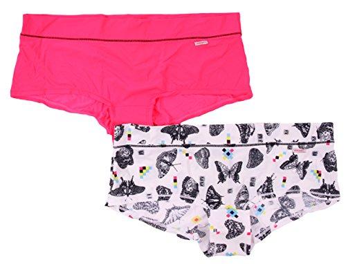 Diesel Shorts Pantie, Unterhose, String 2er Pack (S, Mehrfarbig)