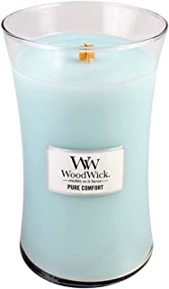 WoodWick Candle, Large, Pure Comfort