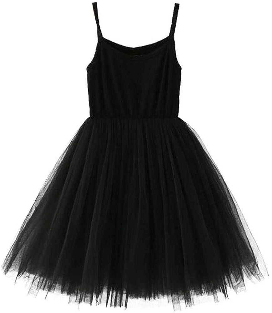 SOBOWO Toddler Baby Girls Tulle Infant Pri Overseas parallel import regular Austin Mall item Tutu Sleeveless Dress