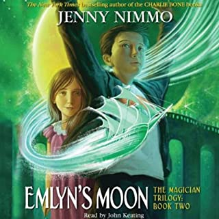 Emlyn's Moon     The Magician Trilogy, Book 2              Written by:                                                                                                                                 Jenny Nimmo                               Narrated by:                                                                                                                                 John Keating                      Length: 4 hrs and 15 mins     Not rated yet     Overall 0.0
