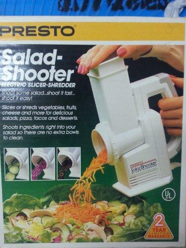 Presto Salad Shooter Electric Slicer/ Shredder