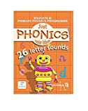 Just Phonics (26 Letter Sounds) and Activity Books follow the letter and Sound
