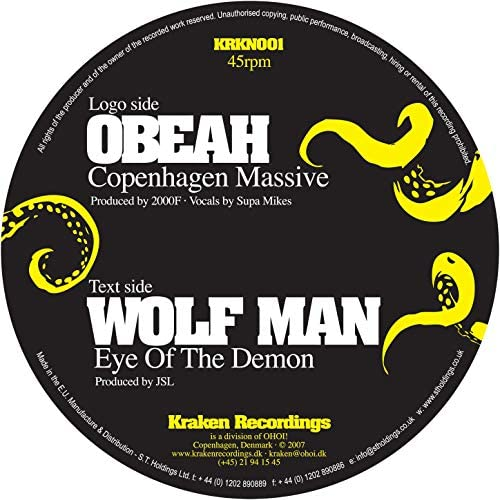 Obeah & Wolf Man