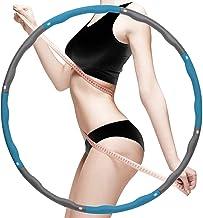Sports Hula Hoop, Gewogen Fitness Oefening Hula Hoop, Geweldig voor Oefening, Dans Oefening Training Gymnastiek Workout Sc...
