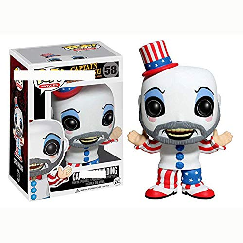MeterMall Funko Pop Movies Captain Spaulding Vinyl Figure Toy Juguetes