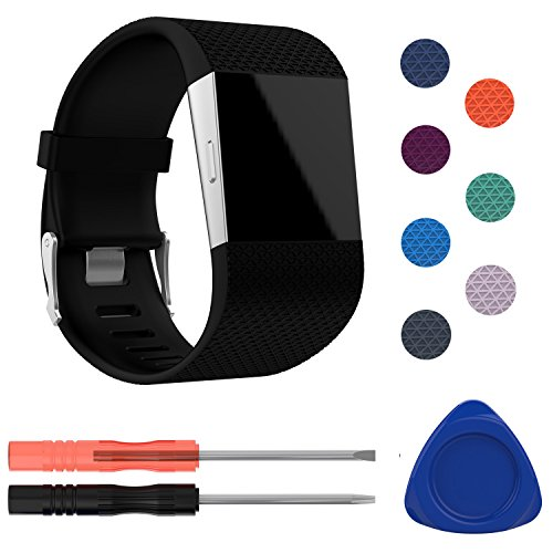 I-SMILE Fitbit Surge Bands, Original Version Replacement Wristband for Fitbit Surge/Wireless Activity Bracelet Sport Wristband