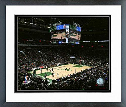 Milwaukee Bucks NBA Framed 8x10 Photograph Team Logo and Basketball