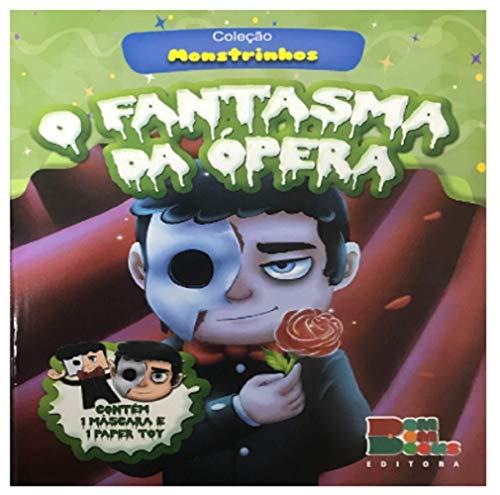Monstrinhos com Mascara e Paper Toy - o Fantasma da Opera