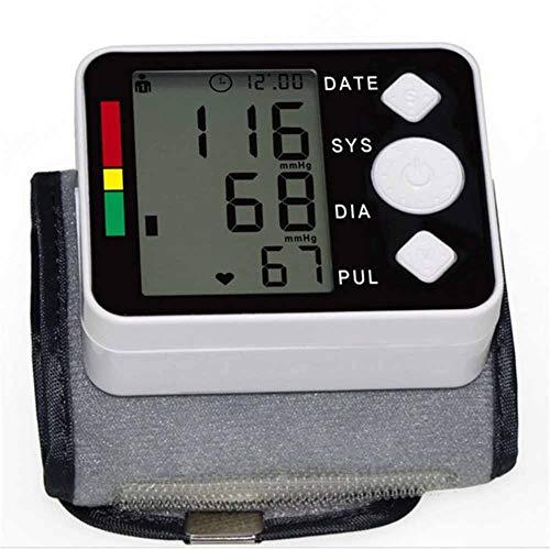WANGXN Handgelenk-Blutdruckmessgerät Mit LCD-Display, 198 Speicher Für Den Automatischen Herzmonitor