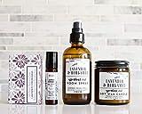Bath Gift Set - Handmade Lavender Essential oil gift box for women - housewarming gift idea
