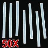 Sonline 50X BATON DE COLLE CHAUD RECHARGE 7X100MM POUR PISTOLET