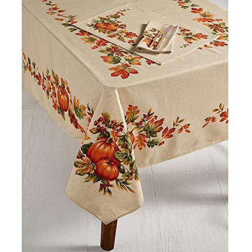 Bardwil Linens Harvest 60' x 102' Tablecloth