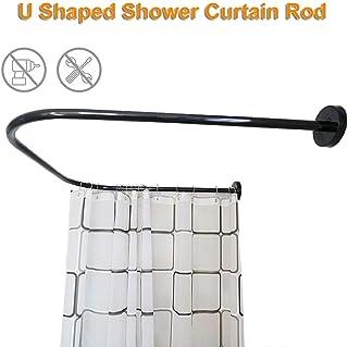 Amazon.es: barra cortina curva bañera