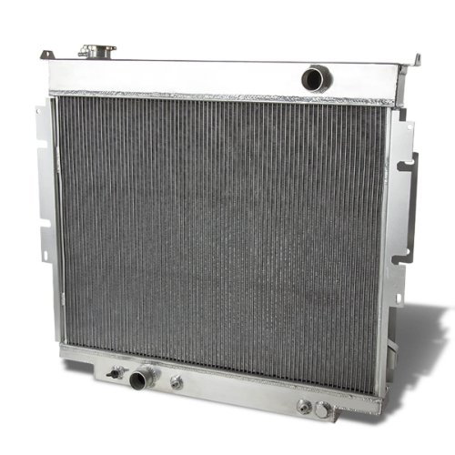 For Ford F-150/F-250/F-350 Super Duty Aluminum 3-Row Racing Radiator