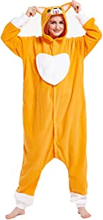 Adult Anime Cosplay Costume Onesies Pajamas Romper Clothing Cheshire Small