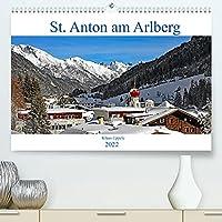 St. Anton am Arlberg (Premium, hochwertiger DIN A2 Wandkalender 2022, Kunstdruck in Hochglanz): Das Schnee- und Sportdorado in den Tiroler Alpen (Monatskalender, 14 Seiten )
