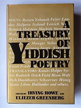 Treasury of Yiddish Verse 0030914809 Book Cover
