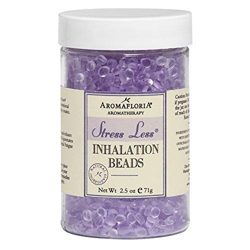 Aromafloria Aromatherapy Stress Less Essential Oil Inhalation Beads, 2.5 oz.