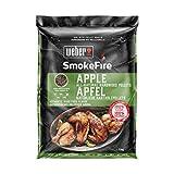 Weber Wood Pellets Apple SmokeFire-Pellet di Legno Naturale al 100%, 0