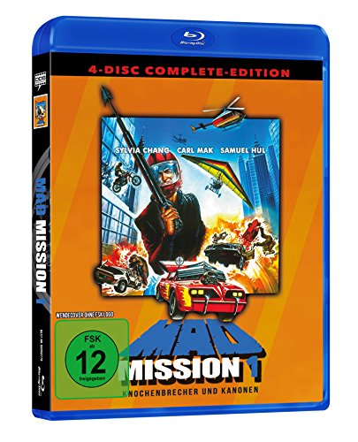 Mad Mission 1 - Uncut - 4 Disc Complete-Edition (2 Blu-rays + 2 DVDs)