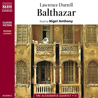 Balthazar audiobook cover art