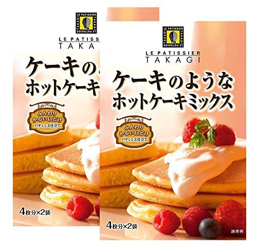 昭和 ケーキのようなホットケーキミックス 400g まとめ買い×2箱
