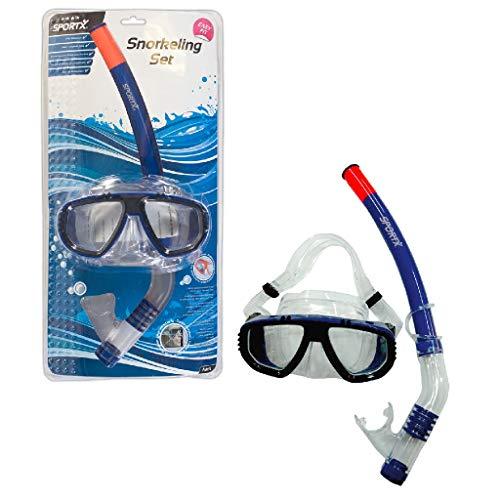 Sportx - 0768007 - Aide À La Nage - Adult Set Snorkeling