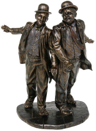 Bronze Laurel & Hardy Figurine nach Studio -Sammlung