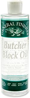 General Finishes Butcher Block 油,1 品脱 1 品脱 124024