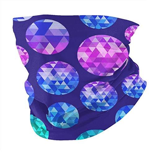 Bola de cristal de colores multifuncional, bandana para deportes al aire libre, pañuelo Ma-sk sin costuras, transpirable, pasamontañas protección UV unisex