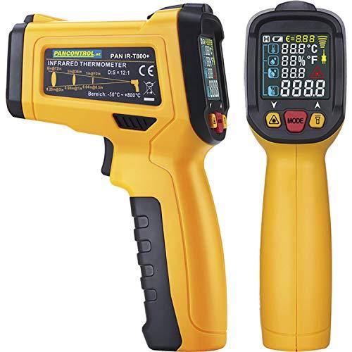 PANCONTROL - Termometro digitale a infrarossi PAN IR-T800+ con display laser