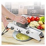 XUXUN Mandoline Slicer Manual Vegetal Cutter PROPROFESS Profesional RELAJE con Las Hojas DE Cocina DE Acero Inoxidable Ajustable 304 (Color : Blanco)