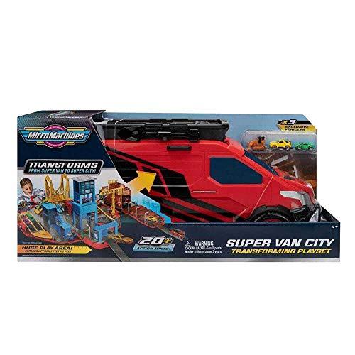Micro Machines MMW0042 Super Van City Playset