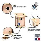 Zoom IMG-1 cultivea kit casetta per uccelli