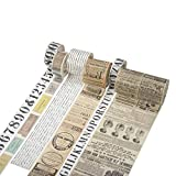 Iriisy Washi Tape Vintage Decoración Scrapbooking Diario Cinta Adhesiva DIY...