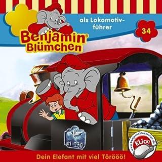 Benjamin als Lokomotivführer cover art