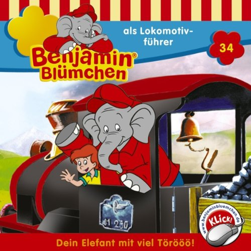 Benjamin als Lokomotivführer audiobook cover art