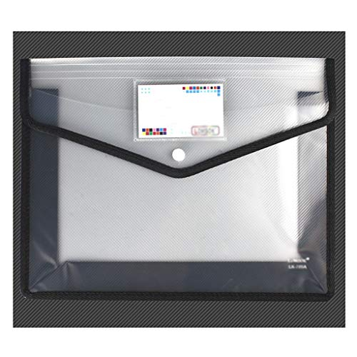 Soporte de Ordenador Documento bolsa, transparente y depósitos organizador del bolso con la etiqueta, viaje bolsa de plástico for la oficina, la escuela, la familia de viaje, 8 colores Soporte para Im