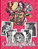 Ever After High Swirls Diagonals Dots Lines Waves Coloring Book: Ever After High Collection Spirogra...