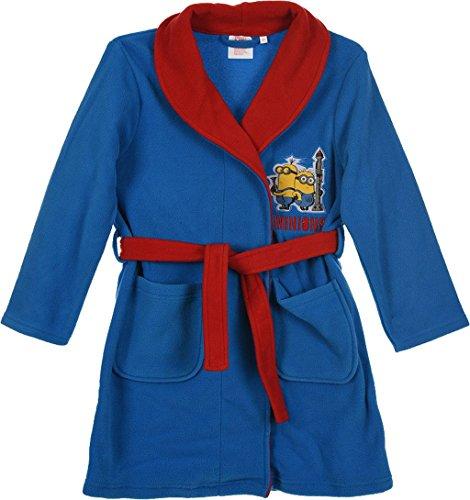 Minions Ik eenvoudig onverbeterbare badjas in blauw en donkerblauw maat 98, 104, 116, 128