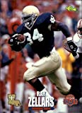 1995 Classic NFL Rookies #57 Ray Zellars NFL Football Trading Card. rookie card picture
