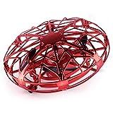 Daxoon Giocattolo Volante UFO, aeromobile telecomandato a induzione con Sfera UFO a Maglie Palla Volante Esterna Coperta e Mini Drone Quadrocopter, per Principianti per Bambini