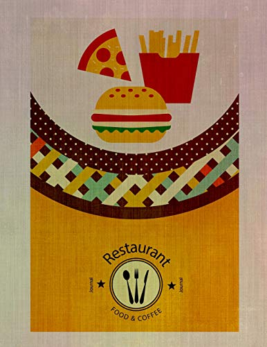 Restaurant Food & Coffee Journal: Recipe logbook and...