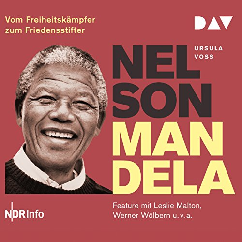 Nelson Mandela audiobook cover art